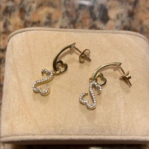 Earrings by Jane Seymour Open Heart